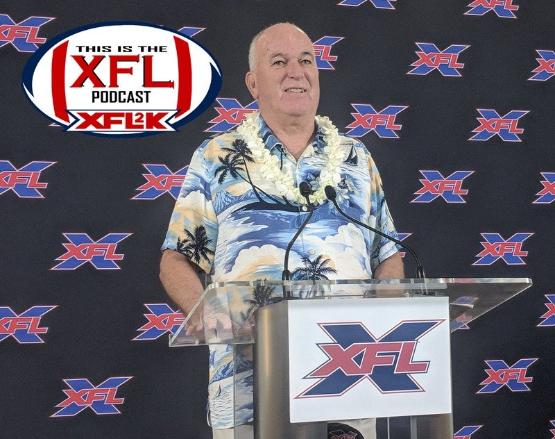 This Is The XFL Podcast - Ep. 25: Houston... We have a coach