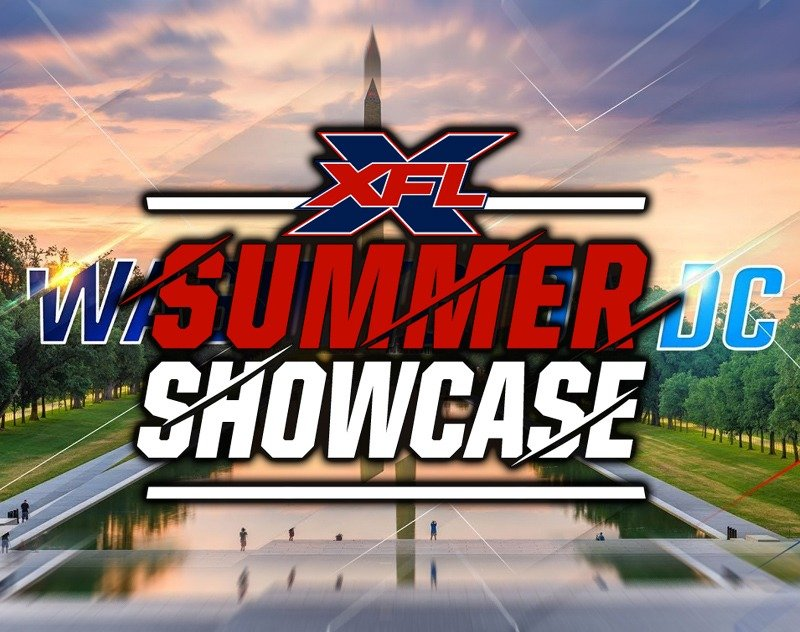 Win a chance to attend XFL DC Summer Showcase