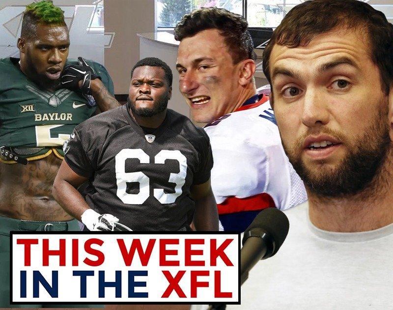 This Week in the XFL | 1k Sub Giveaway, Luck Retires, Manziel, Oakman/Oliie Draft Invites