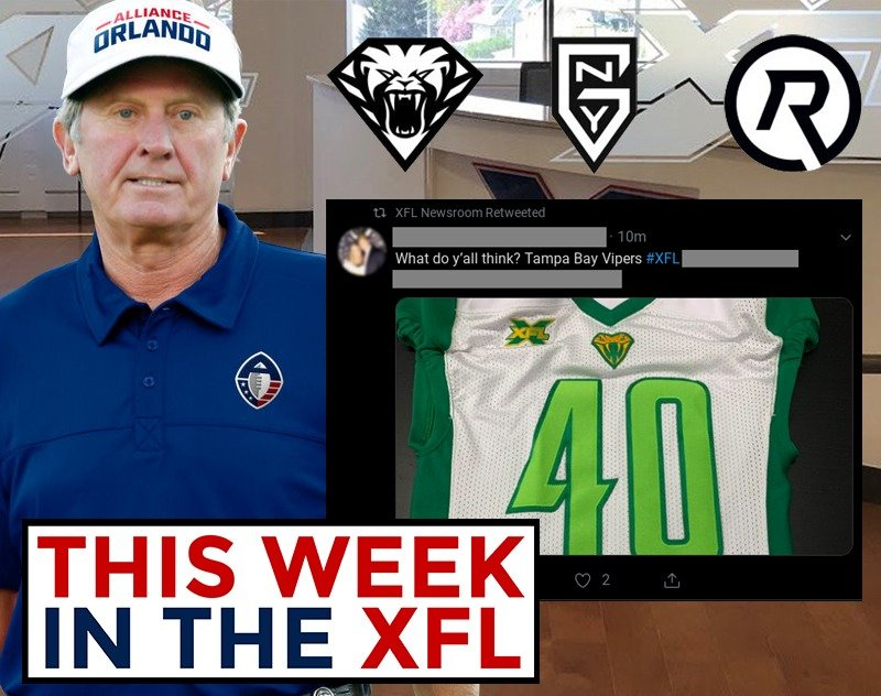 This Week in the XFL   Jersey Leak? New Alt Logos! Spurrier Said What?!
