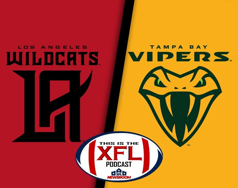 This is the XFL Podcast   Wildcats and Vipers... OH MY!