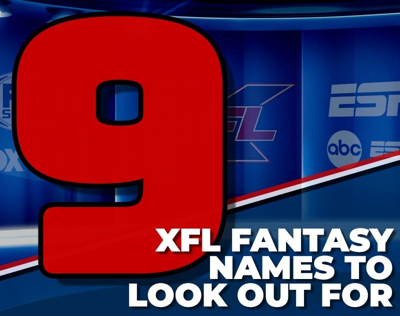 9 XFL Fantasy Names to Look Out For