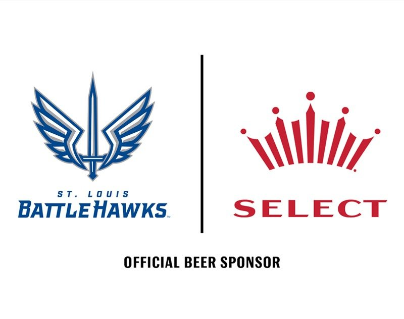 Bud Select to be Named Official Beer Sponsor of St. Louis BattleHawks