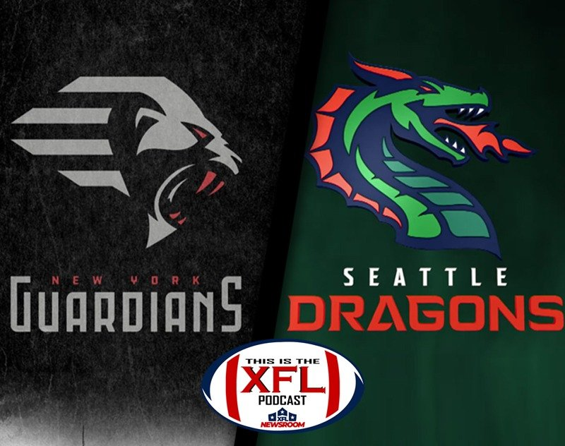 This is the XFL Podcast   Guardians and Dragons