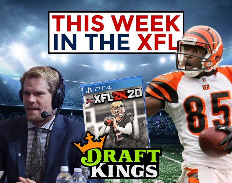 This Week in the XFL | Ochocinco, Video Game, Fantasy and more...