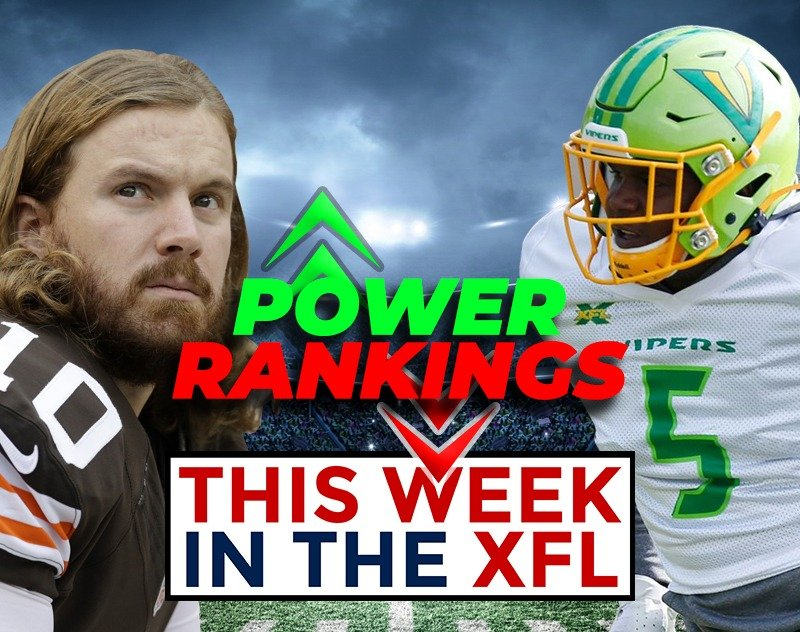 This Week in the XFL | Power Rankings, Injury Report and more...