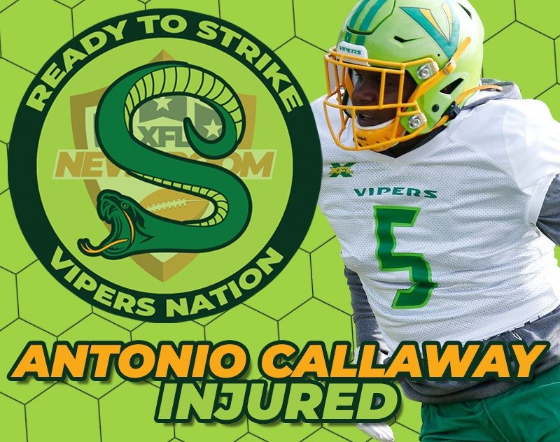 VIPERS NATION   BREAKING: Antonio Callaway Injured