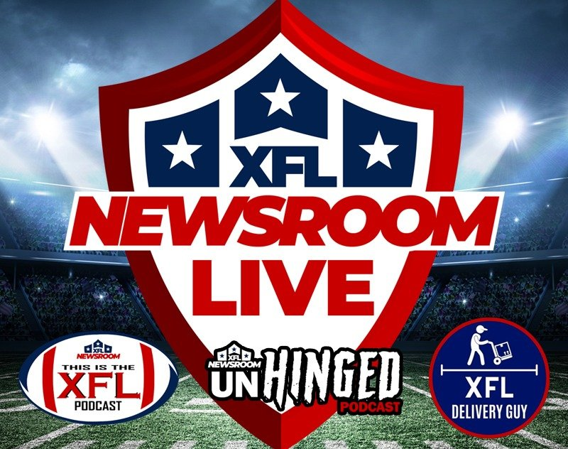 XFL Newsroom LIVE | Week 1 Preview w/ XFL Delivery Guy, JDash and Tron Hawkins