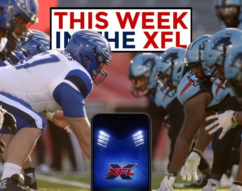 This Week in the XFL | Kickoff is Here! XFL App and FOX Kickoff Party...