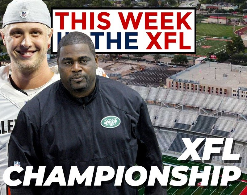 This Week in the XFL | Pepper Johnson Fired, Championship Location and more...