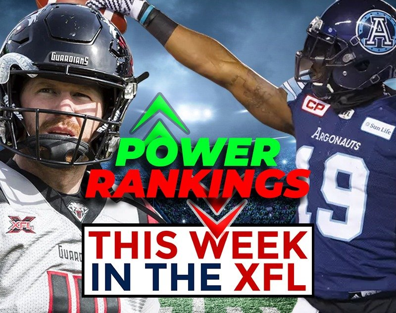 This Week in the XFL | Review, Preview, Power Rankings and more...