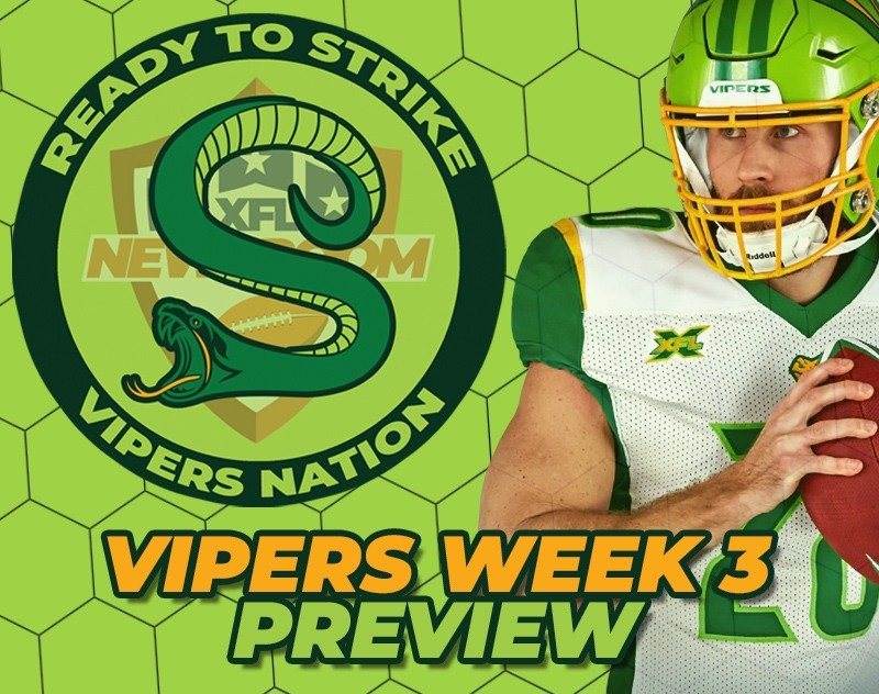 VIPERS NATION | Week 3 Preview - Houston Roughnecks @ Tampa Bay Vipers