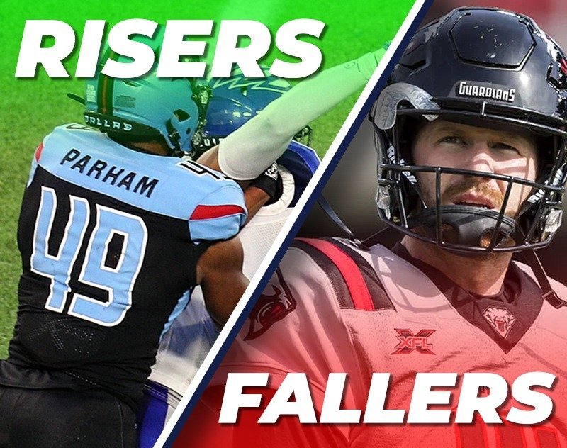 XFL Week 2 Fantasy Risers and Fallers from A&A Fantasy Football