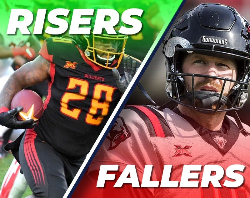 XFL Week 3 Fantasy Risers and Fallers from A&A Fantasy Football