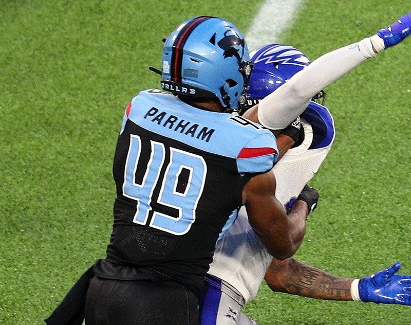 Dallas Renegades TE, Donald Parham, Agrees to Join Chargers