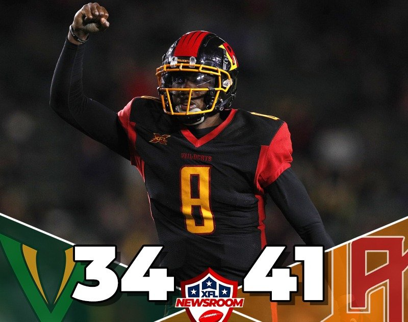 Los Angeles Wildcats Take Down Tampa Bay Vipers 41-34