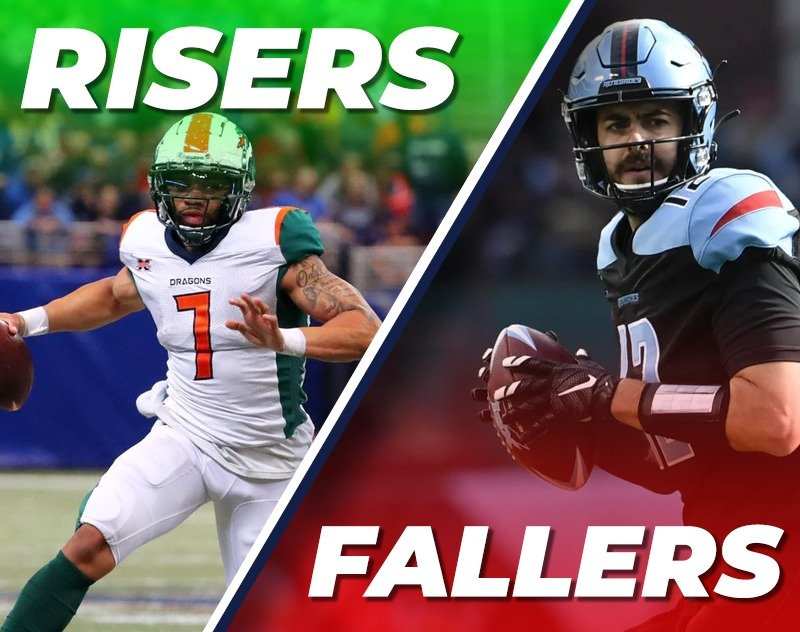 XFL Week 4 Fantasy Risers and Fallers from A&A Fantasy Football