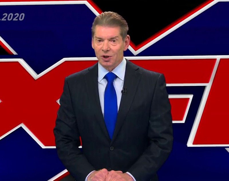 Vince McMahon Reportedly to put the XFL up for sale