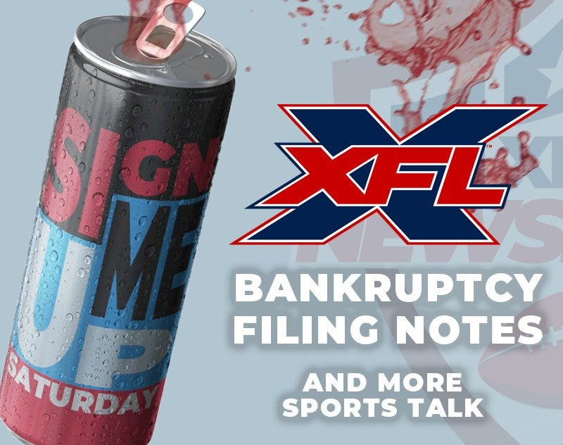 XFL Sale Updates, Sports Talk and more | Sign Me Up Saturday