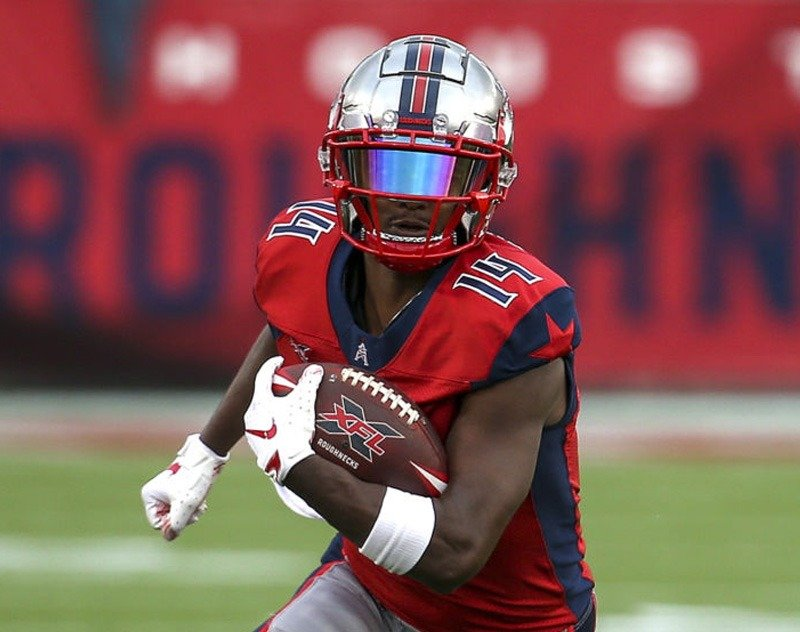 Panthers Expected to Sign Houston Roughnecks WR Cam Phillips