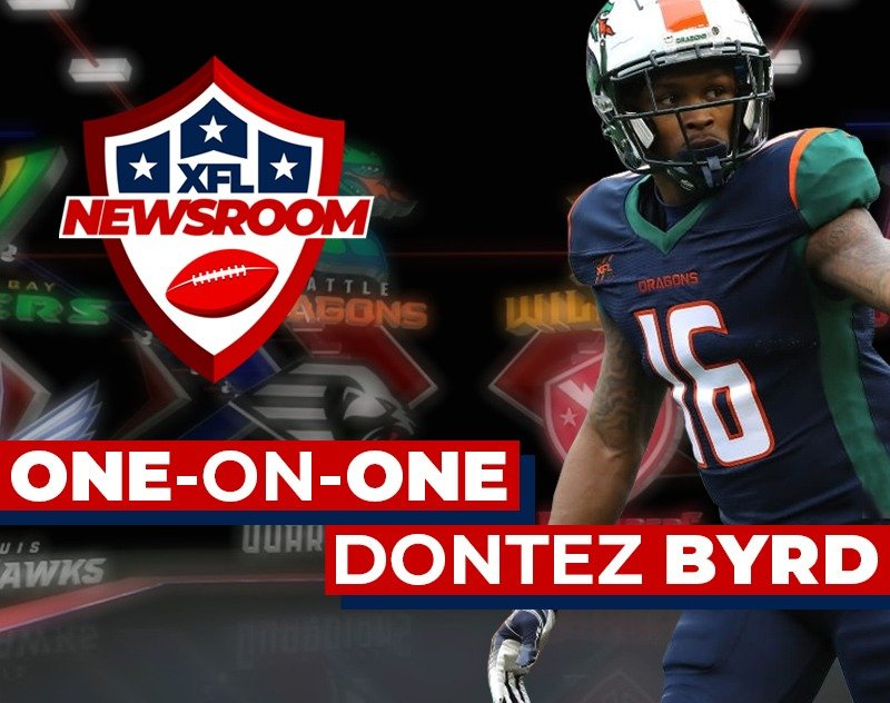 One-on-One with Seattle Dragons WR Dontez Byrd