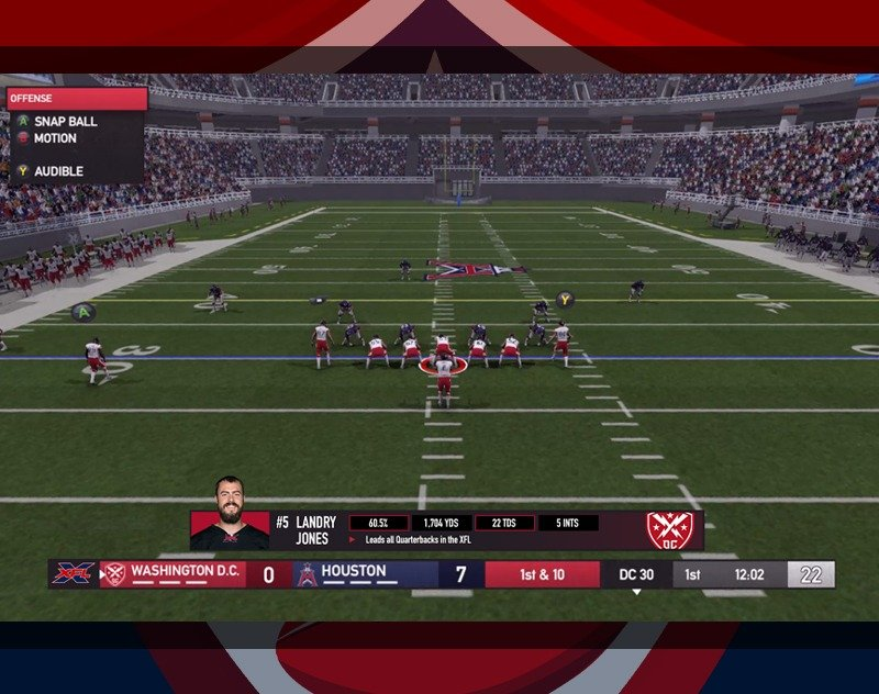 Screenshots Surface of XFL Video Game That was in Production