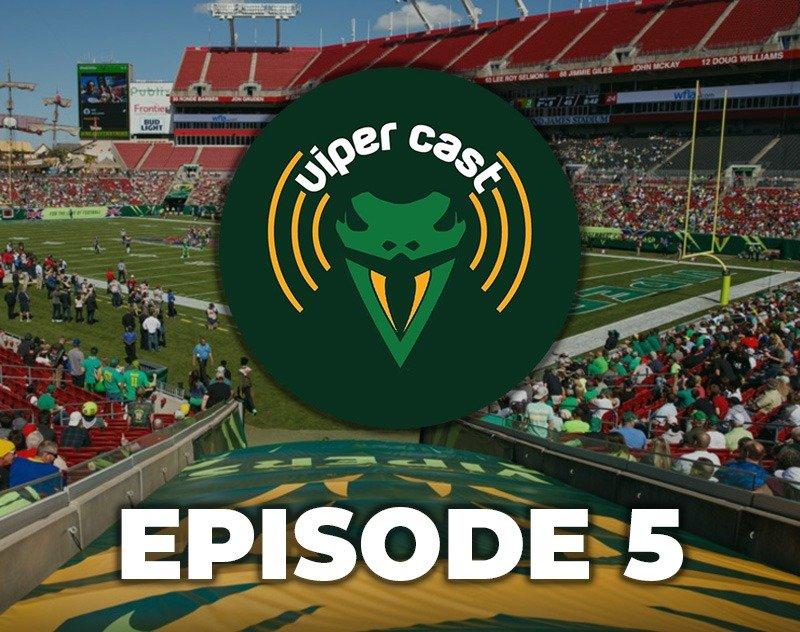 Viper Cast - Episode 2 | XFL Podcast | Tampa Bay Vipers