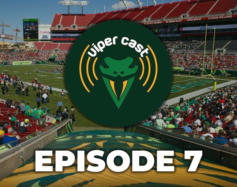 Viper Cast - Episode 7 | XFL Podcast | Tampa Bay Vipers