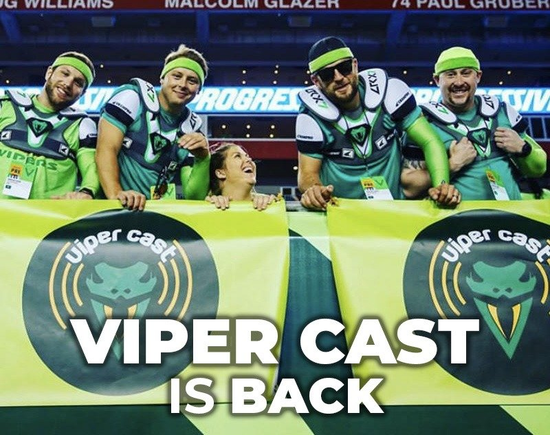 Viper Cast is Back | XFL Newsroom | Tampa Bay Vipers