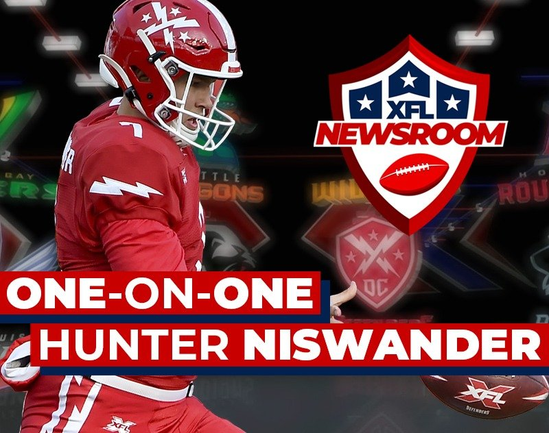One-on-One with DC Defenders Punter Hunter Niswander | XFL Newsroom
