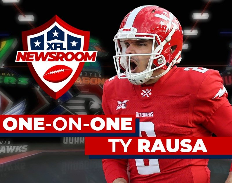 One-on-One with DC Defenders Kicker Ty Rausa | XFL Newsroom