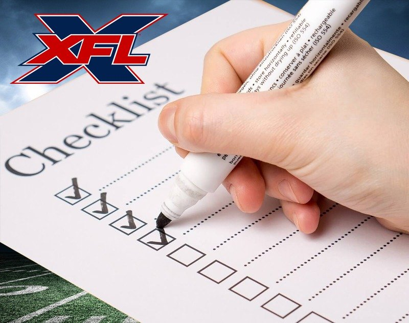 Pre-Season Checklist: What Needs to Happen Before XFL Kickoff?