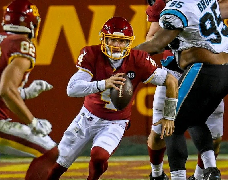 Taylor Heinicke Sees Nfl Action Vs Carolina May Start On Snf