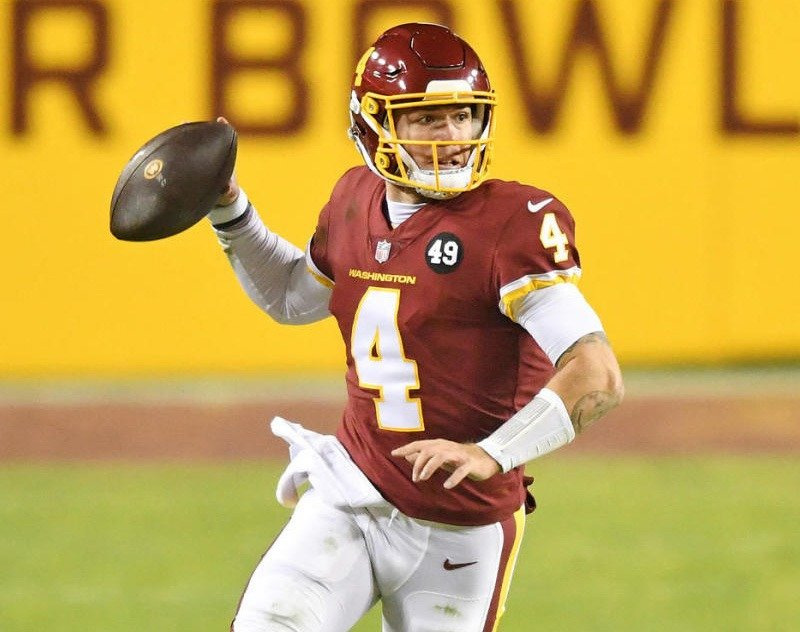 Taylor Heinicke Signs Two Year Extension With Washington Football Team