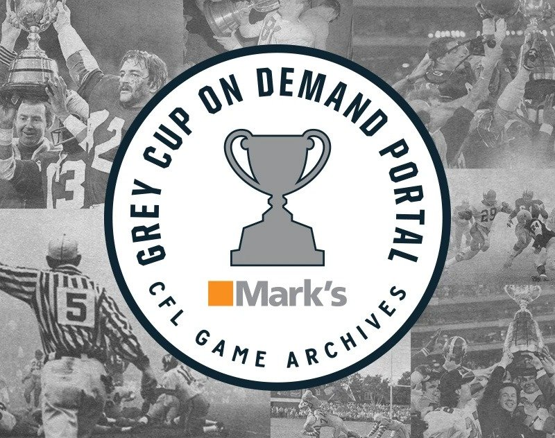 CFL Grey Cup Games from the 90's Now Available On-Demand