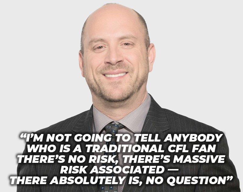 Dave Naylor Sees the Massive Risk Associated with a CFL/XFL Merger