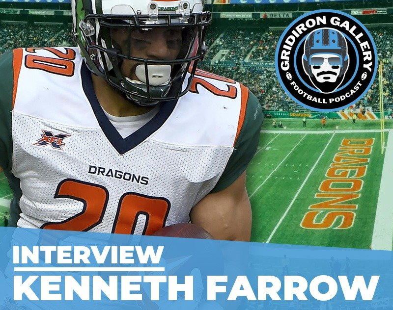 Interview with Former Seattle Dragons RB Kenneth Farrow