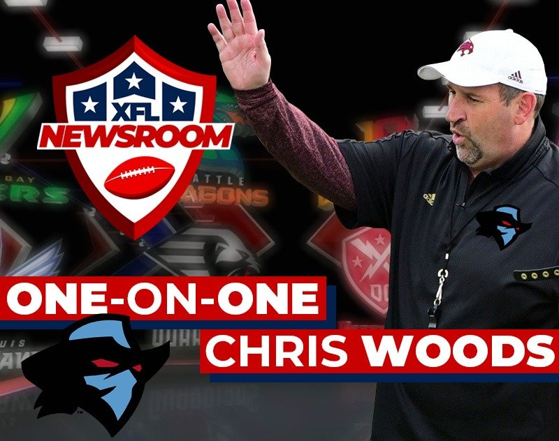 One-on-One with Chris Woods [Dallas Renegades Defensive Coordinator]