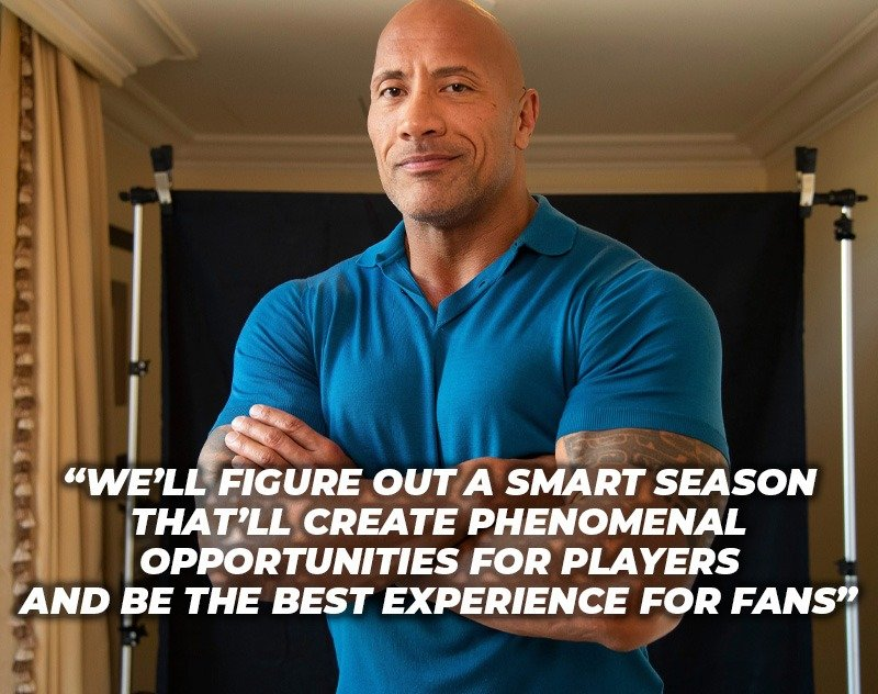 Dwayne 'The Rock' Johnson Weighs in on the CFL/XFL Discussions