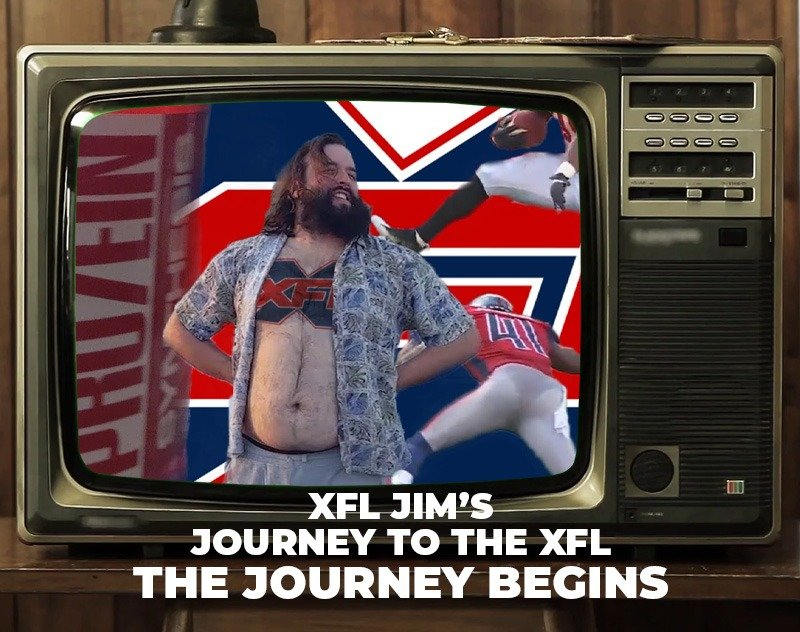 XFL Jim's Journey to the XFL: The Journey Begins | XFL Newsroom