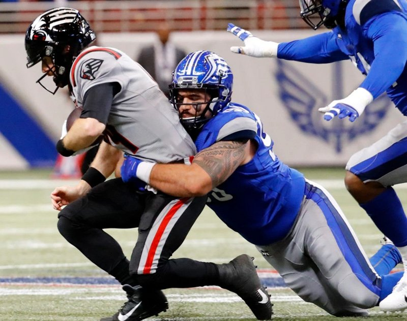 Former BattleHawks DT Casey Sayles Signs with Winnipeg Blue Bombers