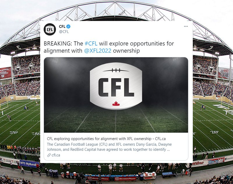 XFL Talks Prove to be a Social Media Success for the CFL