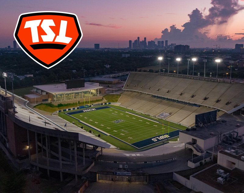 Rice Stadium to Host The Spring League's Houston Hub