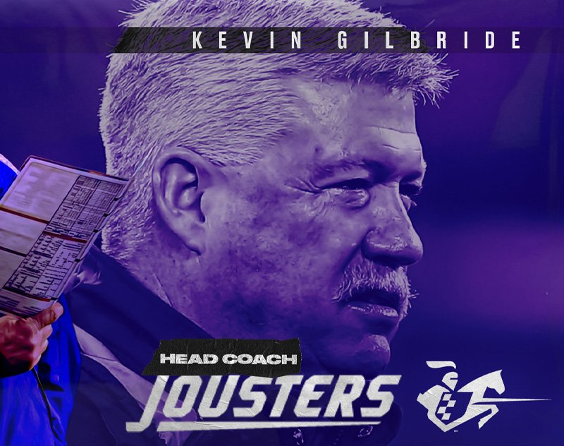 The Spring League Officially Announces Kevin Gilbride as Jousters Head Coach