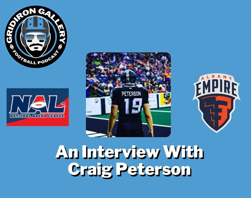 An Interview with Empire kicker Craig Peterson - Sometimes It's About the Journey
