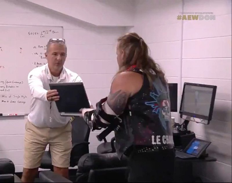 Urban Meyer and Charlie Strong Appear on AEW's PPV Double or Nothing PPV
