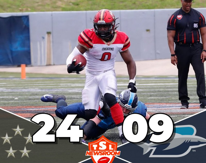 The Generals Shine in 24-9 Week 3 Victory Over the Blues