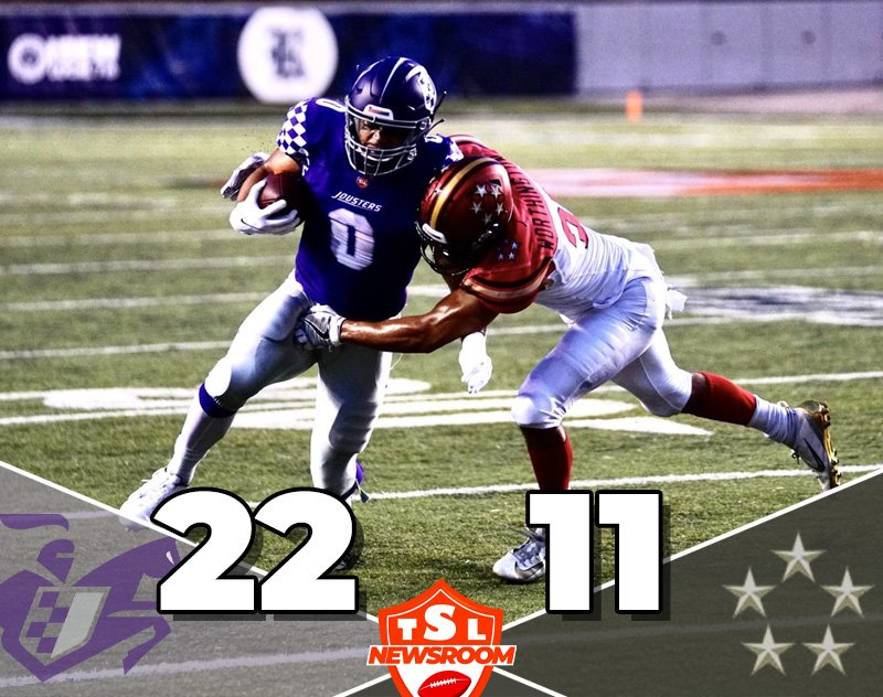 Jousters Dominate The Generals In Crucial Saturday Night Win