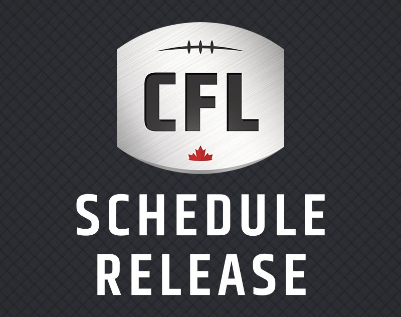 CFL Releases Schedule for Shortened 2021 Season