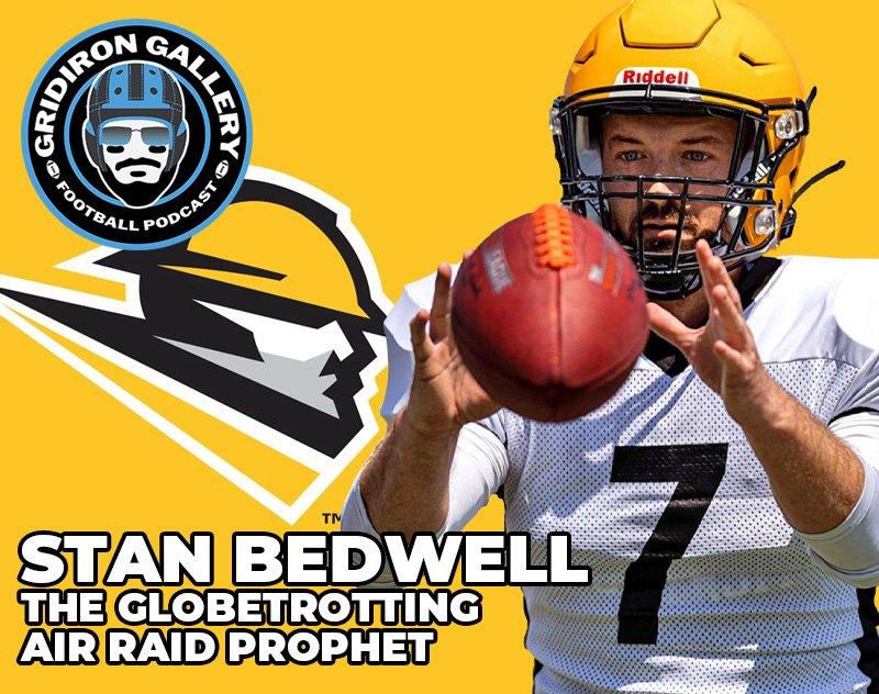 Stan Bedwell - The Globetrotting Air Raid Prophet | Gridiron Gallery